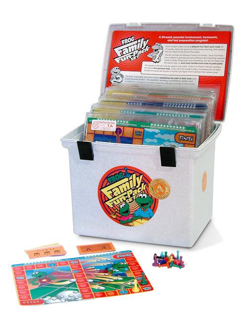 PA-733 Family Fun-Pack Game Set - Level A Math (reviews 1st grade skills)
