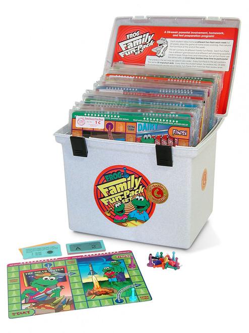 PA-735 Family Fun-Pack Game Set - Level C Math (reviews 3rd grade skills)