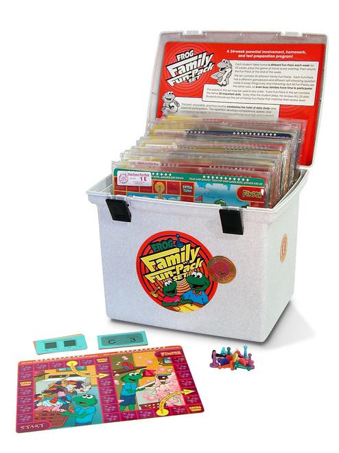 PA-737 Family Fun-Pack Game Set - Level E Math (reviews 5th grade skills)