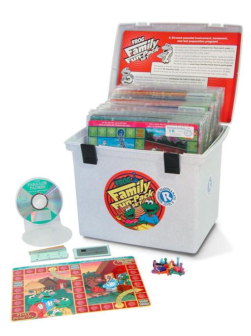 PA-831 Family Fun Pack Game Set - En Español & English, Level R Math & Reading Readiness (plus 24 audio CDs)