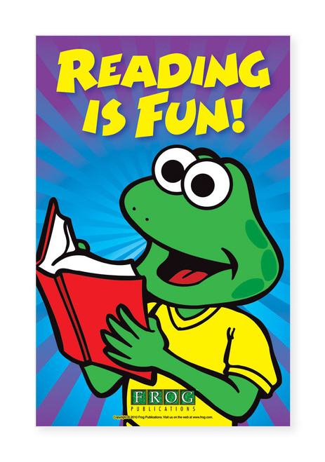 "CP-703 11""x17"" Classroom Poster - ""Reading is Fun"""