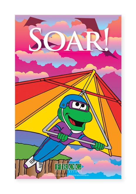 """CP-707 11""""x17"""" Classroom Poster - """"Soar"""""""