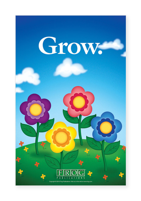 "CP-708 11""x17"" Classroom Poster - ""Grow"""