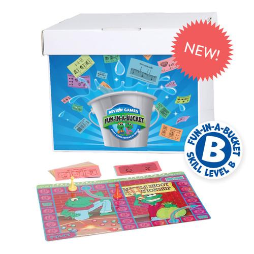 FUN-003 Fun-in-a-Bucket, Math Level  B (2nd Grade)