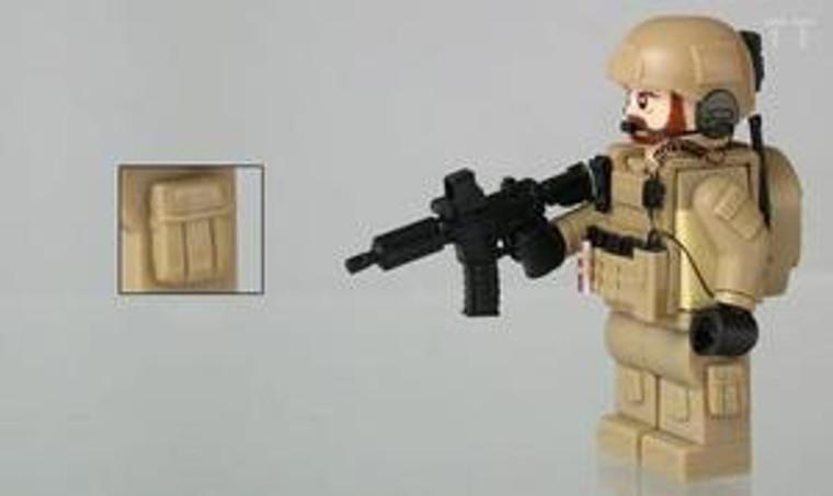 Tiny Tactical Cargo Pockets