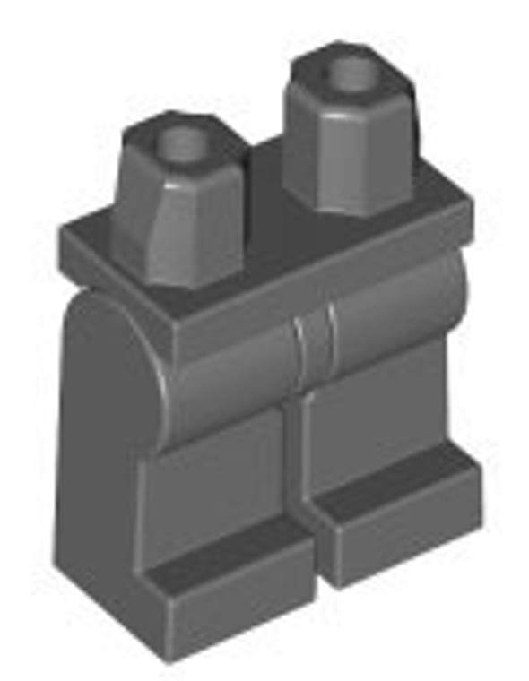 Lego Legs Dark Bluish Gray