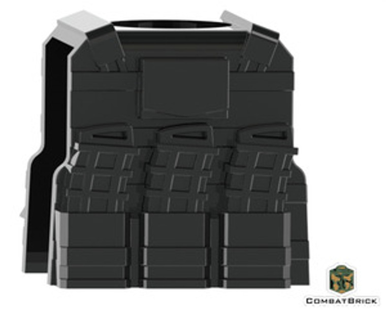 - CombatBrick Reversable Vest with PMags and clip
