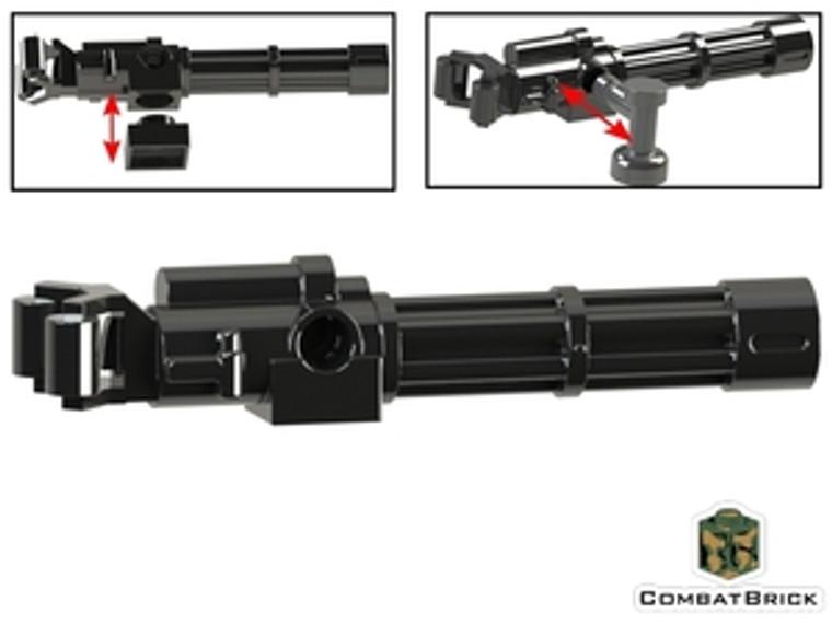 CombatBrick Minigun Machine Gun