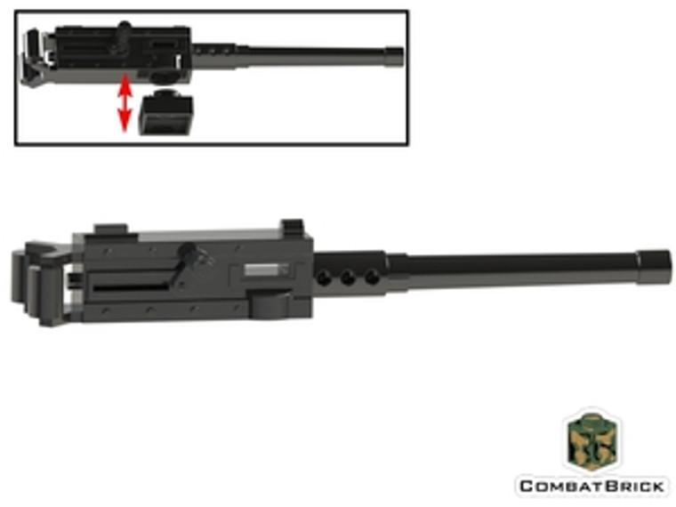 CombatBrick Browning M2 M2HB Ma Deuce .50 Caliber Heavy Machine Gun