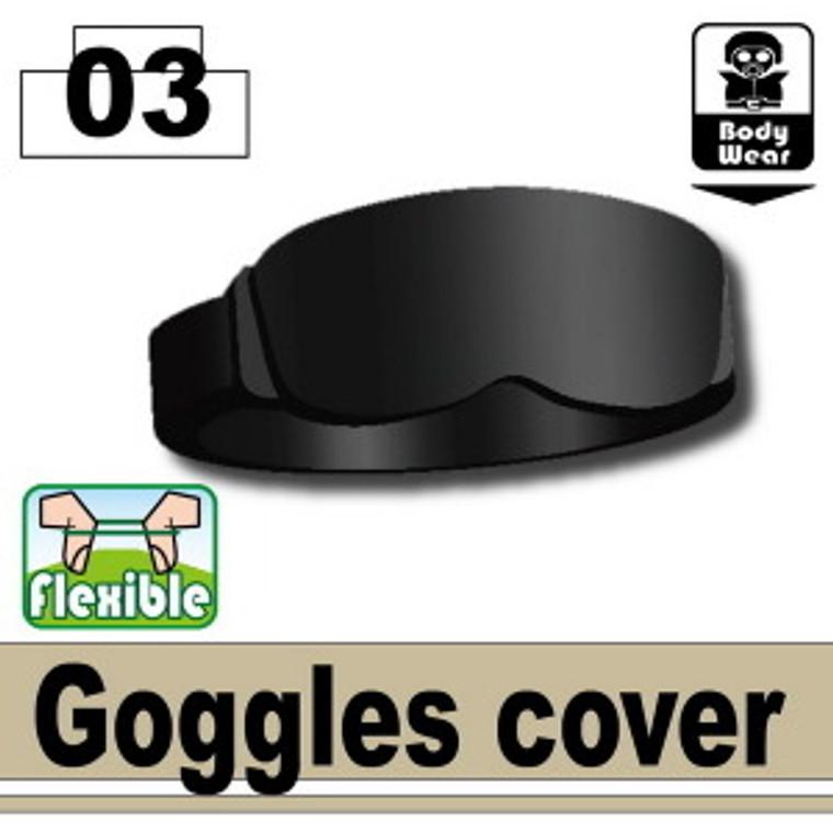 Goggles cover Black
