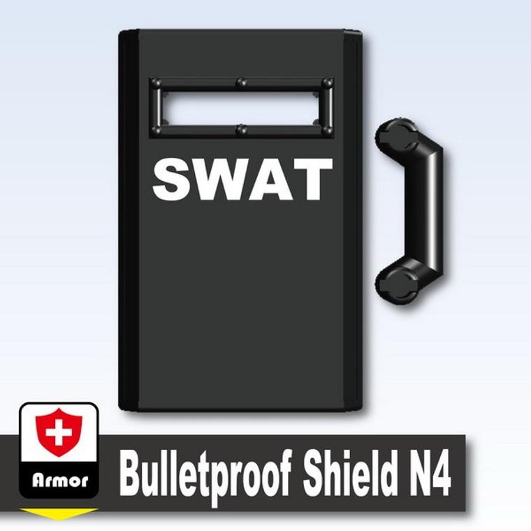 Bulletproof SWAT Shield