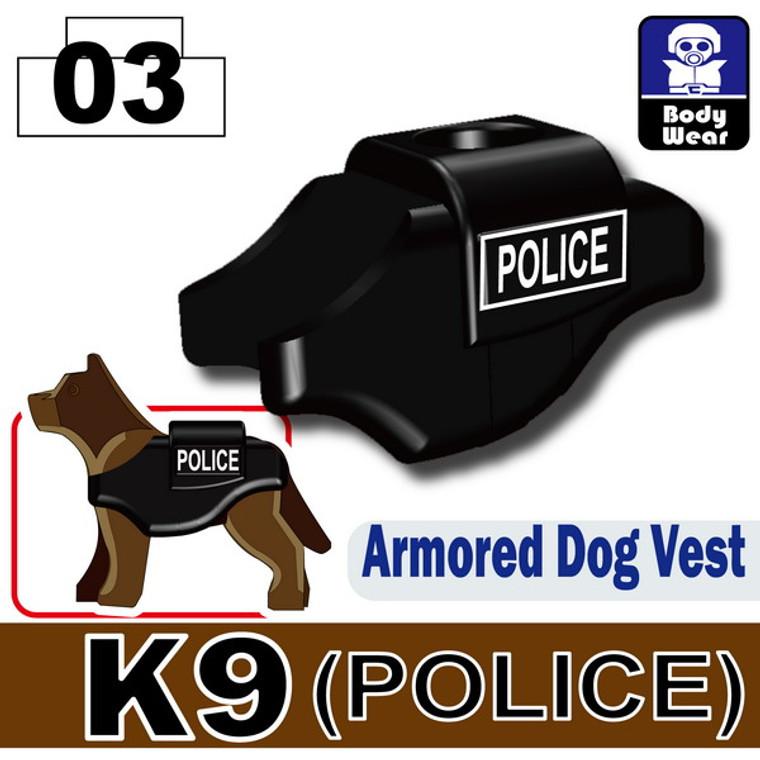 Armored Dog Vest (K9) POLICE