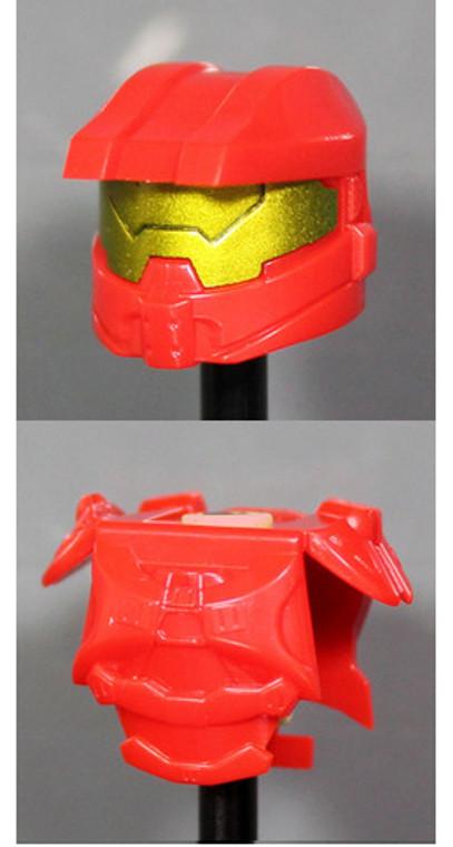 Clone Army Customs Orbital Helmet & Armor - Red