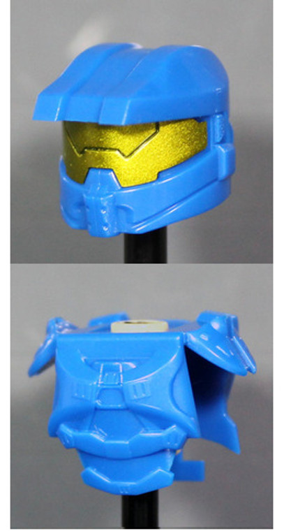 Clone Army Customs Orbital Helmet & Armor - Blue
