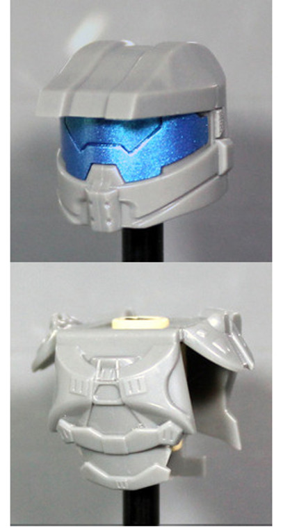 Clone Army Customs Orbital Helmet & Armor - Dark Gray