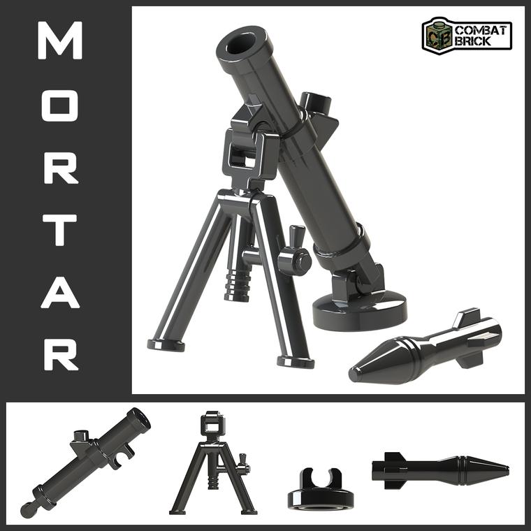 CombatBrick Mortar set