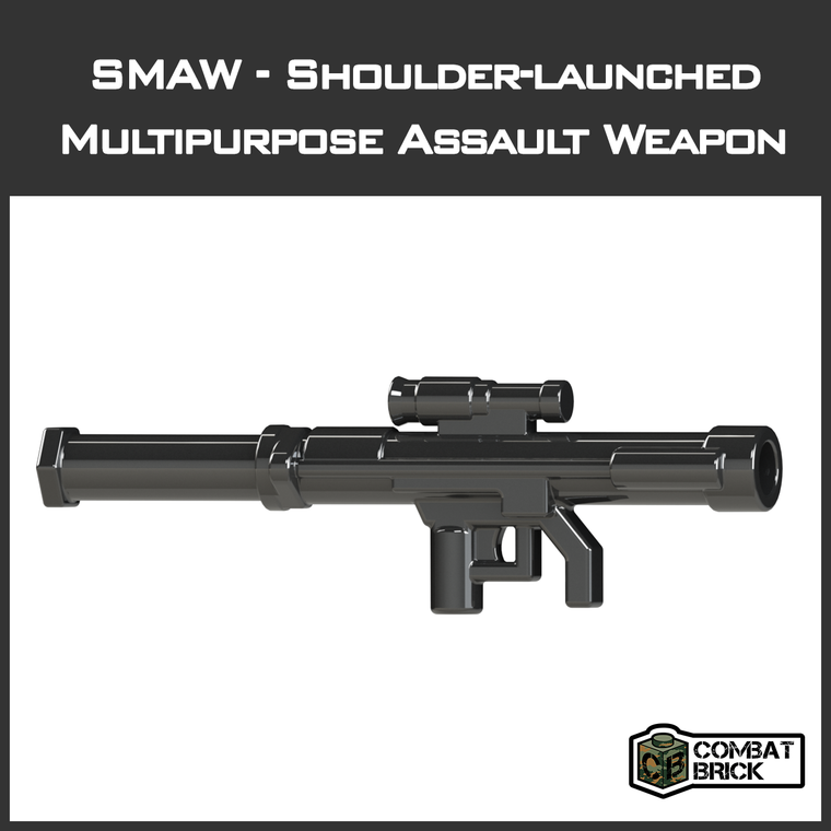 CombatBrick SMAW Shoulder-Launched  Multipurpose Assault Weapon