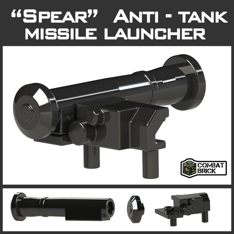 "CombatBrick ""Spear"" Anti-Tank Misslie Launcher"