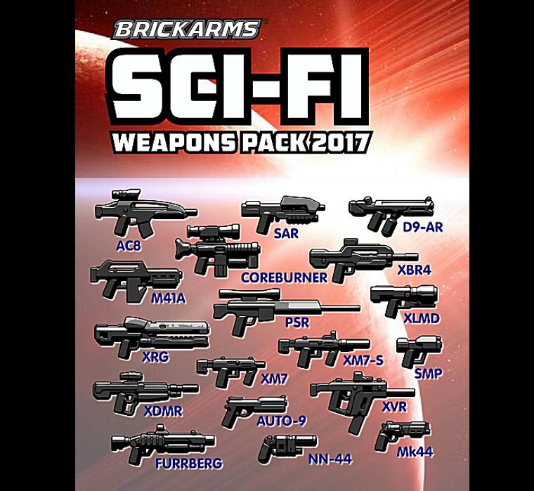BrickArms Sci-Fi Pack 2017
