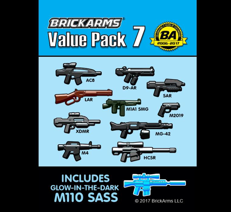 BrickArms Value Pack 7