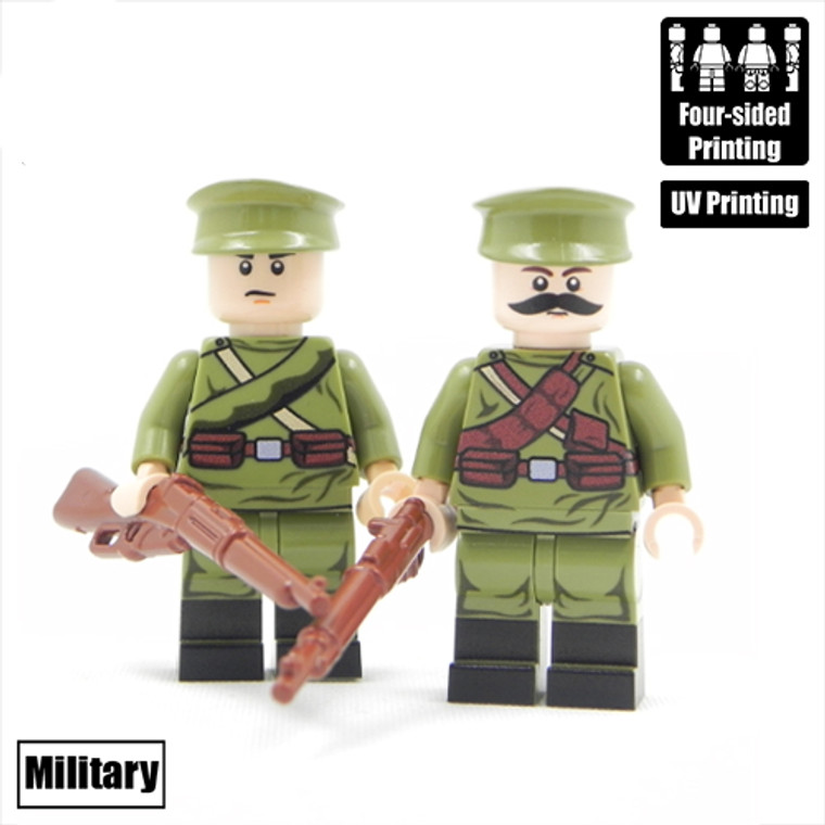 Custom Minifigure - WW1 Russian Team