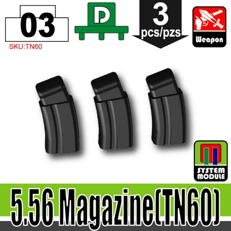 SI-DAN Black 5.56 Magazine (TN60)