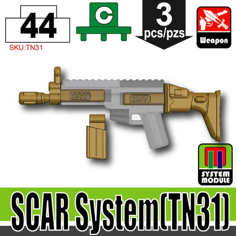 SI-DAN Dark Tan SCAR System (TN31)