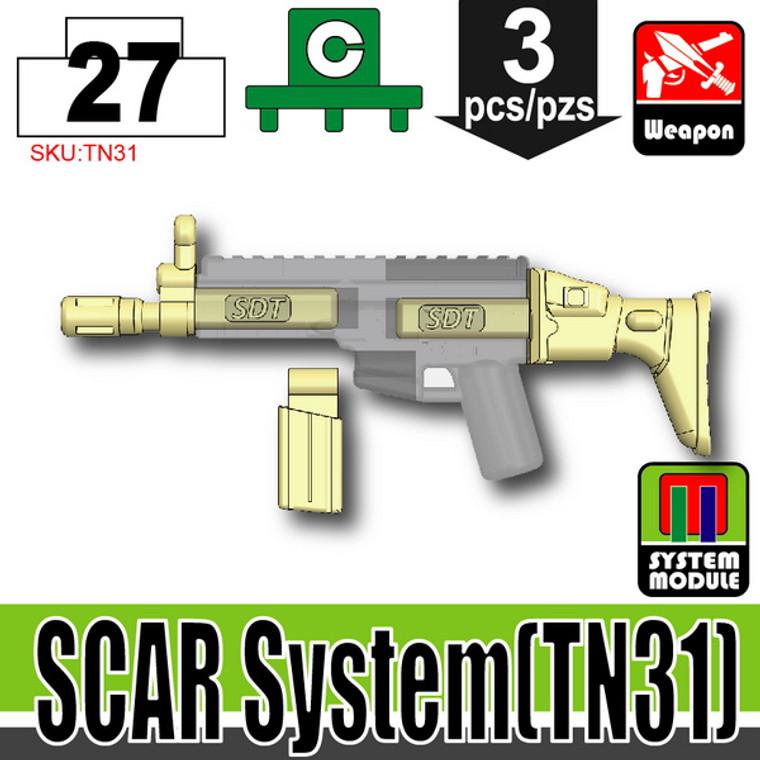 SI-DAN Tan SCAR System (TN31)
