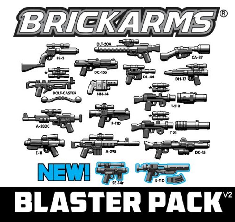 BrickArms Blaster Pack v2
