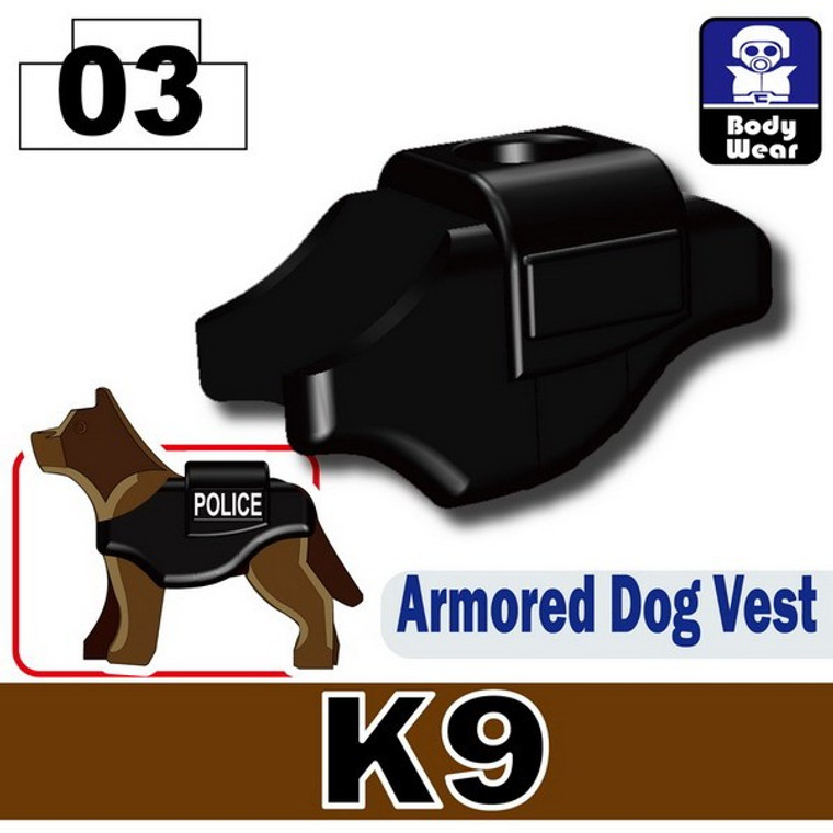 Armored Dog Vest Plain (K9)