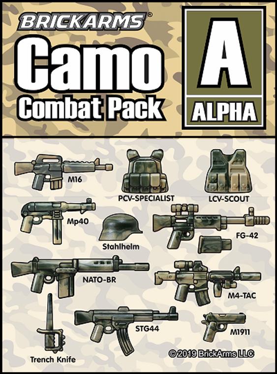 BrickArms Camo Combat Pack - ALPHA
