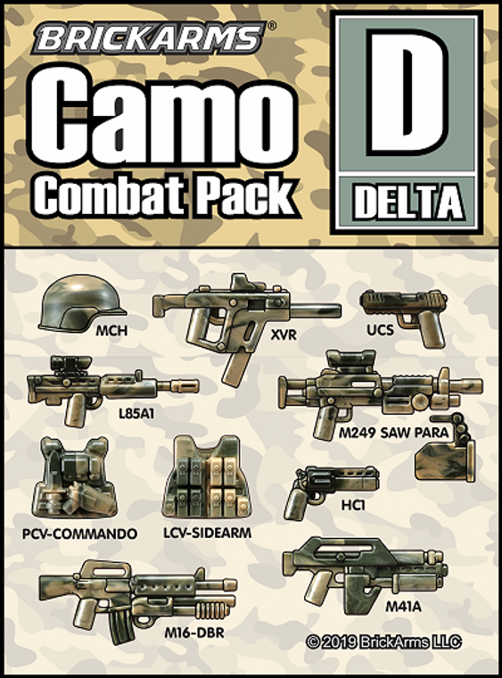 BrickArms Camo Combat Pack - DELTA
