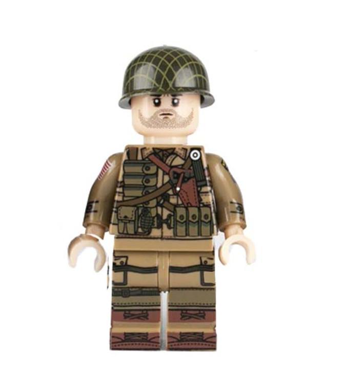 Custom Minifigure - WW2 US Command Soldier