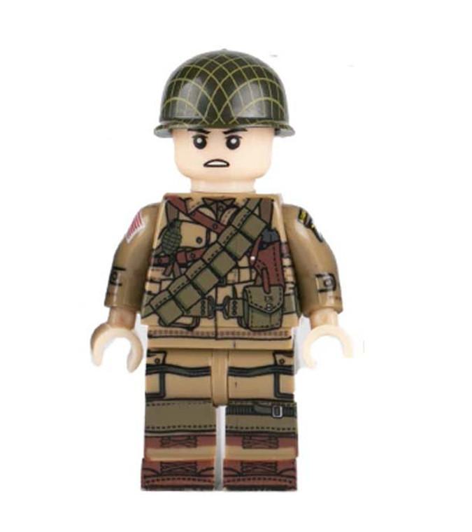 Custom Minifigure - WW2 US Rifleman Soldier