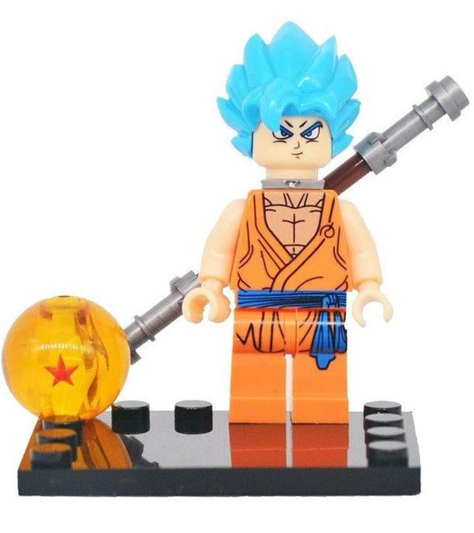 Minifigure - Dragon Ball Z - Super Saiyan Blue Goku