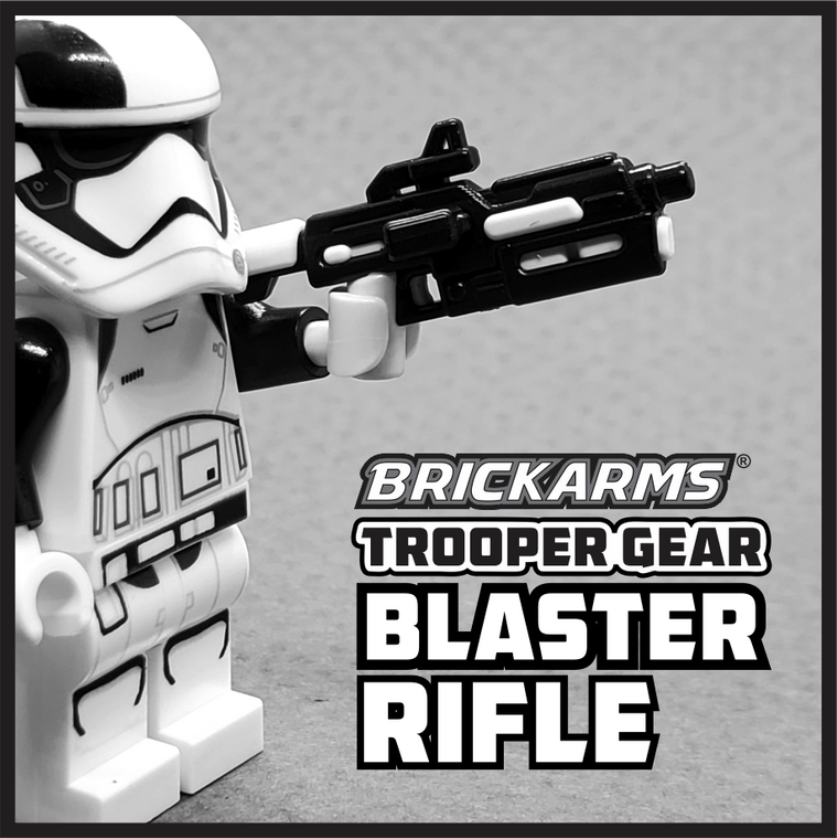 BrickArms Trooper Gear Blaster Rifle