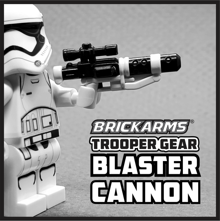 BrickArms Trooper Gear Blaster Cannon