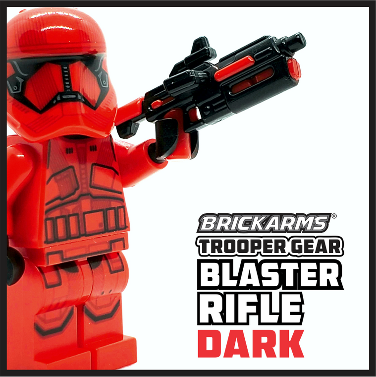 BrickArms Trooper Gear DARK Blaster Rifle