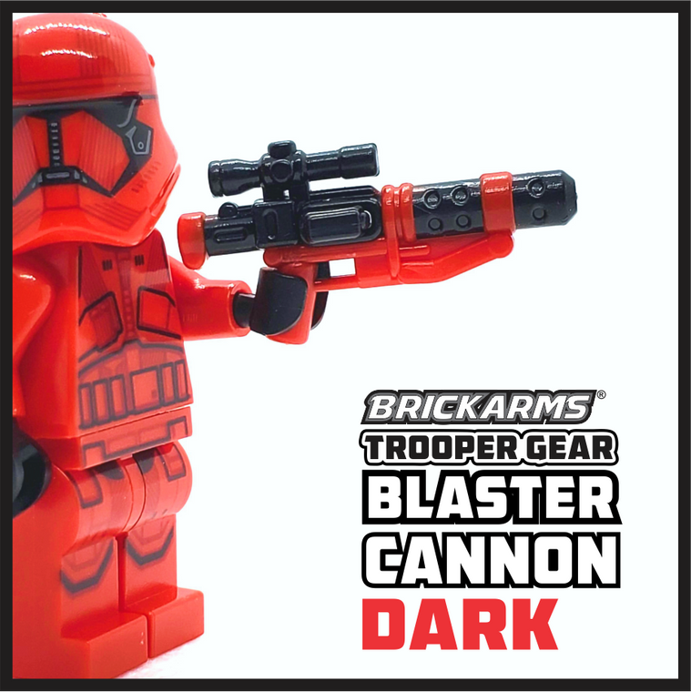 BrickArms Trooper Gear DARK Blaster Cannon