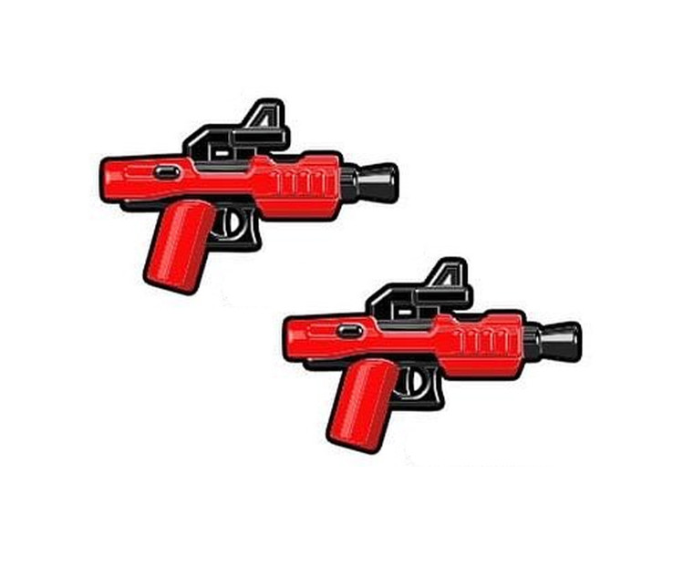 BrickArms Trooper Gear DARK Blaster Pistols (x2)