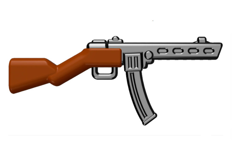 BrickArms PPSh w/Stick Mag - RELOADED