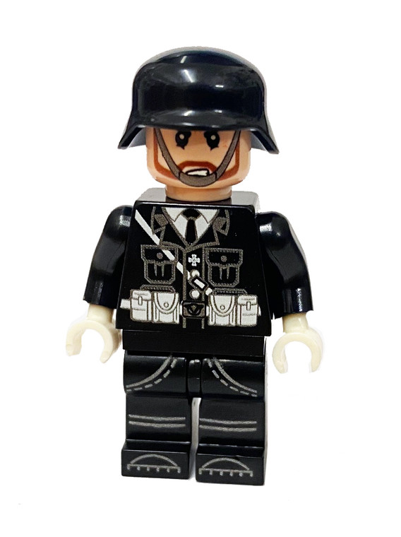 Custom Minifigure - WW2 Panzer Commander