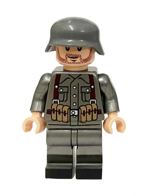 Custom Minifigure - WW2 German Rifleman Soldier #2