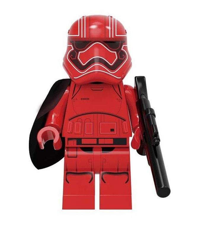 Minifigure - Star Wars - First Order Stormtrooper (Red)