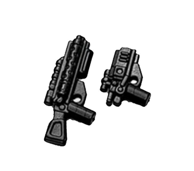 BrickArms Dark Warrior 1 - Rifle & Pistol