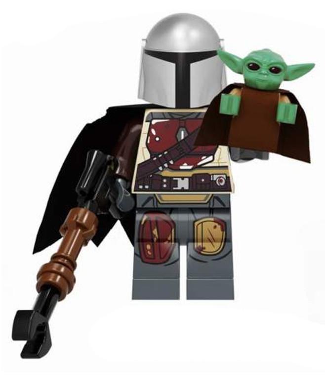 Minifigure - Star Wars - Mandalorian 1 and Baby Yoda