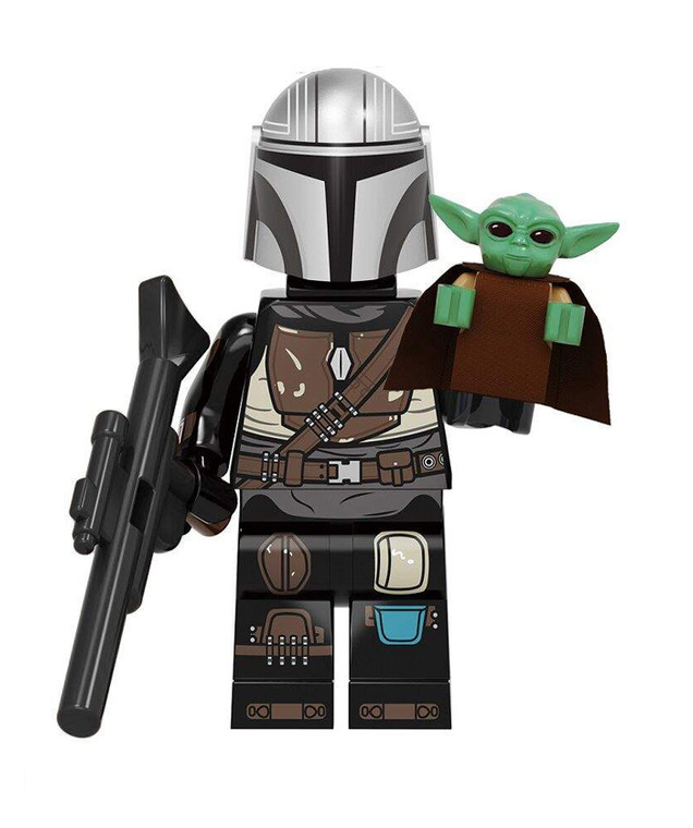 Minifigure - Star Wars - Mandalorian 2 and Baby Yoda