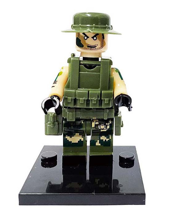 Custom Minifigure - Special Forces #1