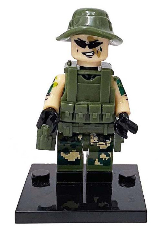 Custom Minifigure - Special Forces #3