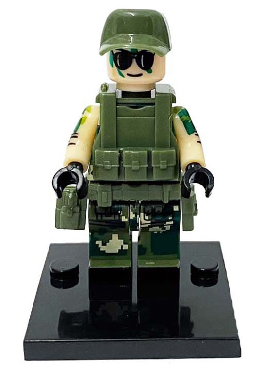 Custom Minifigure - Special Forces #4